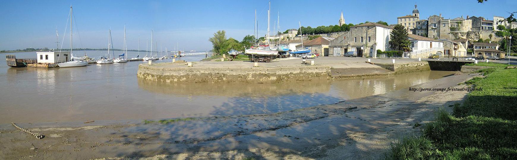 port bourg sur gironde...